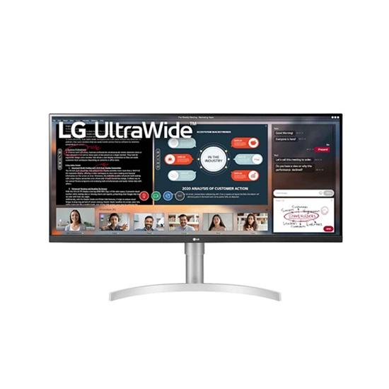 """LG 34WN650W Led UltraWideFHD 34"""" Ergonomic Monitor with speakers (34WN650-W) (LG34WN650WB)"""