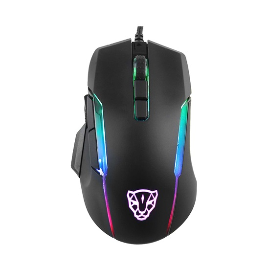 Motospeed V90 Wired Gaming Mouse Black