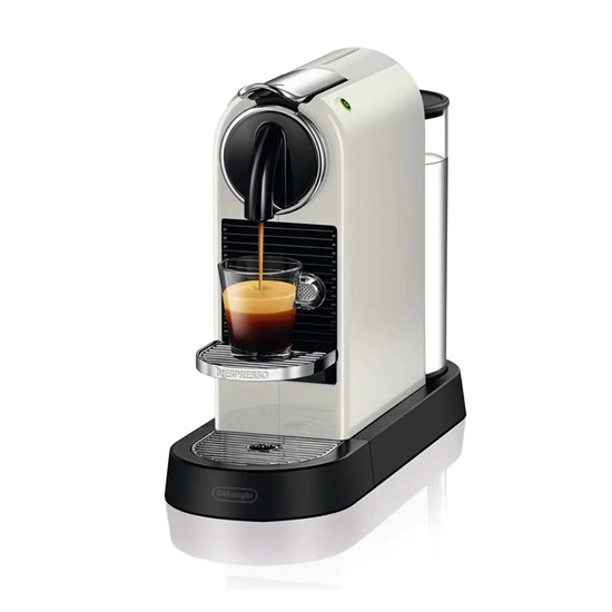 Delonghi Nespresso Citiz White (EN167W) (DLGEN167W)
