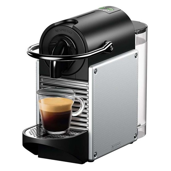 Μηχανή Espresso Delonghi Nespresso Pixie Silver (EN124) (DLGEN124)