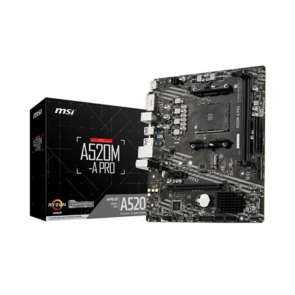 MSI A520M-A Pro (AM4) (7C96-001R) (MSI7C96-001R)