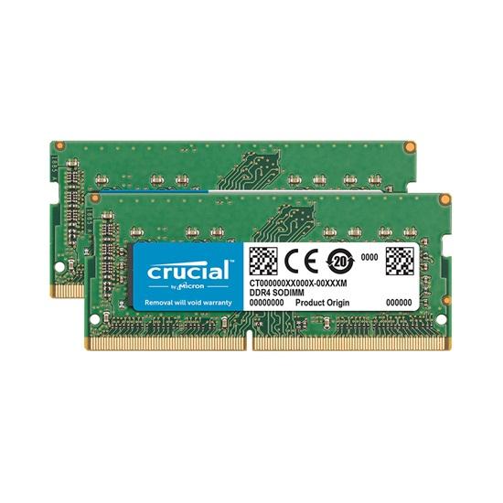 Crucial 32GB Kit (2 x 16GB) DDR4-2400 SODIMM Memory for Mac (CT2K16G4S24AM) (CRUCT2K16G4S24AM)