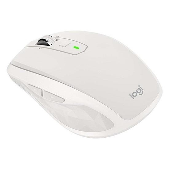 "Logitech ""Mx 2s Anywhere"" Laser Mouse (Light Grey,Wireless) (910-005155) (LOGMXANYWHERE2LGR)"
