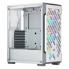 Corsair iCUE 220T RGB Airflow Tempered Glass Mid-Tower Smart Case — White (CC-9011174-WW) (CORCCC-9011174-WW)
