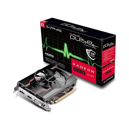 VGA Sapphire Pulse Radeon RX 550 4GB G5 (11268-21-20G) (SAP11268-21-20G)