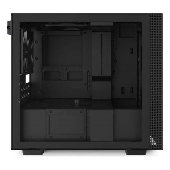 NZXT H210 Mini-ITX Case with Lighting and Fan control Matte Black (CA-H210I-B1) (NZXTCA-H210I-B1)