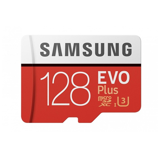 Samsung Micro Secure Digital Evo Plus U3 128GB Class 10 (MB-MC128HA/EU)