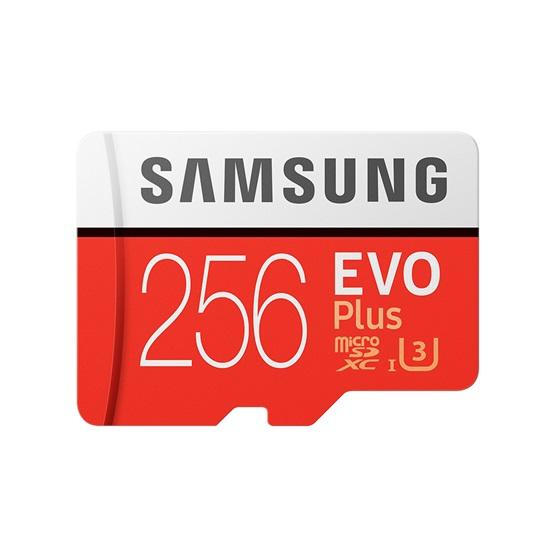 Samsung Micro Secure Digital Evo Plus U3 256GB Class 10 (MB-MC256HA/EU)