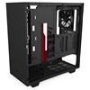 NZXT H510 Window Matte Black/Red (CA-H510B-BR) (NZXTCA-H510B-BR)