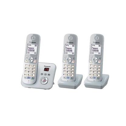 Ασύρματο Τηλέφωνο Panasonic KX-TG6823GS PearlSilver (KX-TG6823GS) (PANKX-TG6823GS)