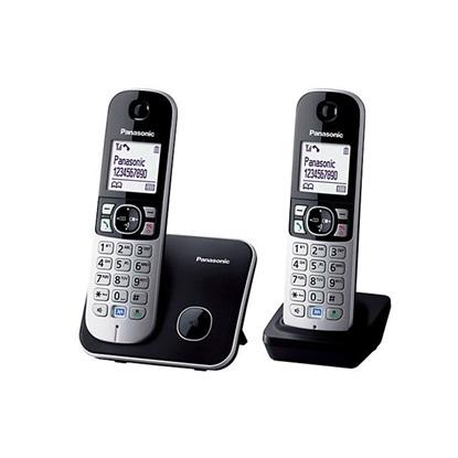 Ασύρματο Τηλέφωνο Panasonic KX-TG6812GB Black (KX-TG6812GB) (PANKX-TG6812GB)