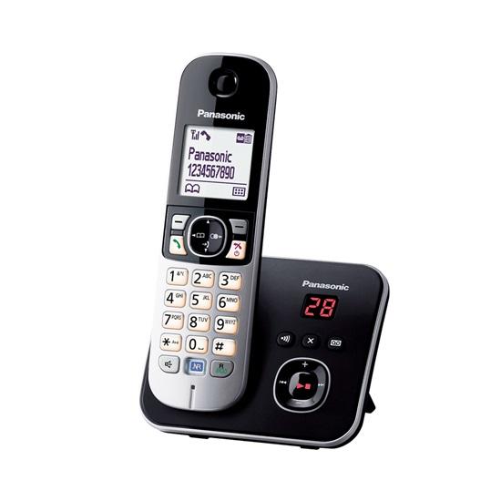 Ασύρματο Τηλέφωνο Panasonic KX-TG6821GB Black (KX-TG6821GB) (PANKX-TG6821GB)
