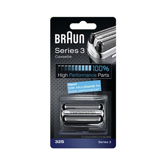 Ανταλλακτικό Ξυριστικής Μηχανής Braun 32S Combipack (32S) (BRA32S)