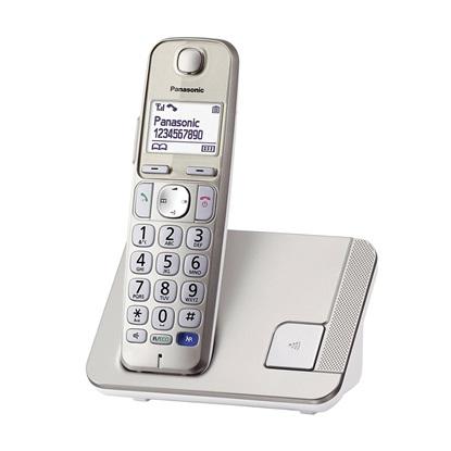 Ασύρματο Τηλέφωνο Panasonic KX-TGE210GN Gold (KX-TGE210GN) (PANKX-TGE210GN)