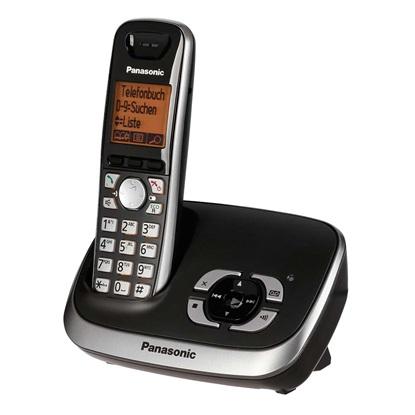 Ασύρματο Τηλέφωνο Panasonic KX-TG6521GB Black (KX-TG6521GB) (PANKX-TG6521GB)