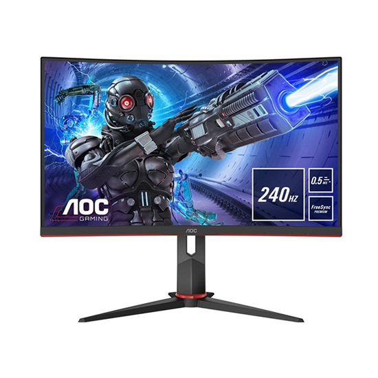 AOC C27G2ZE/BK Curved Led Gaming Monitor 27'' (C27G2ZE) (AOCC27G2ZE)
