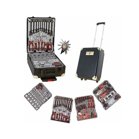 Βαλίτσα Εργαλείων 409 τμχ Swiss Kraft (SK-409G) (SWISK-409G)