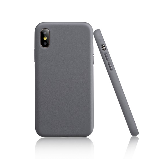 Garbot Corium Nappa Leather Case Iphone XS Max Grey (SC-NFE-00018)