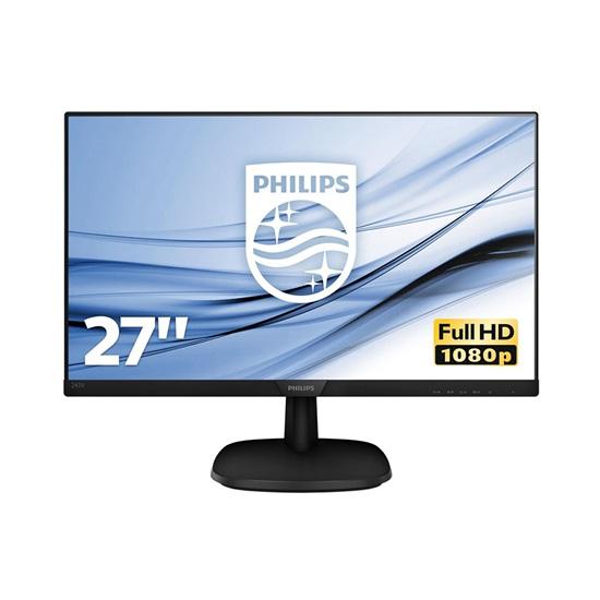 "PHILIPS 273V7QJAB Led IPS FHD Monitor 27"" with speakers (273V7QJAB) (PHI273V7QJAB)"