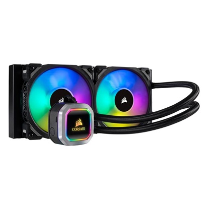 Corsair Hydro Series H100i Pro RGB Platinum 240mm (CW-9060039-WW) (CORCW-9060039-WW)