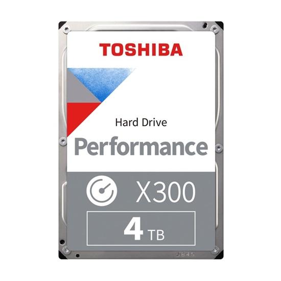 Toshiba X300 - Performance Hard Drive 3.5'' 4TB (HDWE140UZSVA) (TOSHDWE140UZSVA)