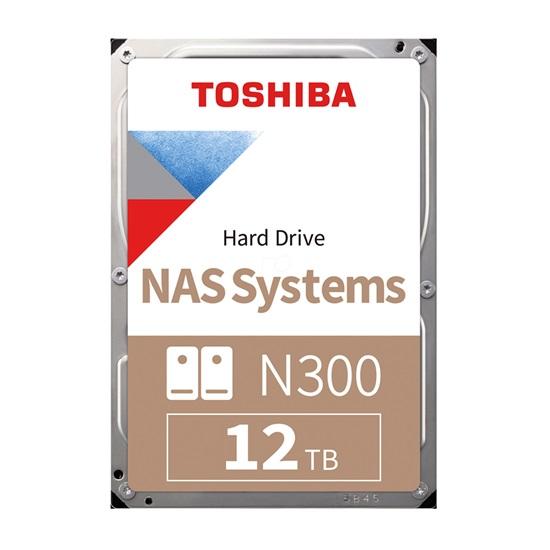 Toshiba N300 - NAS Hard Drive 3.5'' 12TB (HDWG21CUZSVA) (TOSHDWG21CUZSVA)
