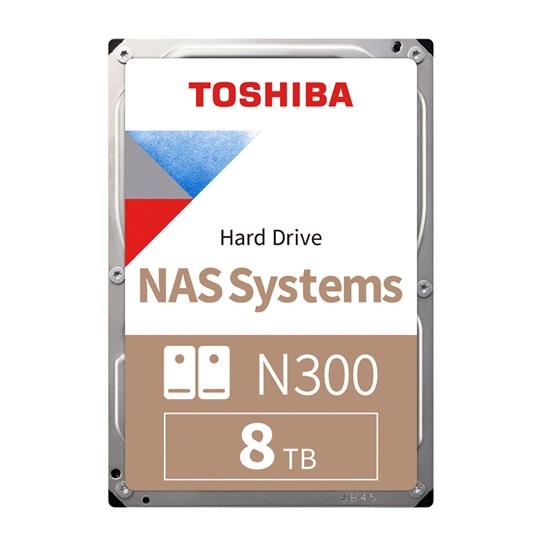 Toshiba N300 - NAS Hard Drive 3.5'' 8TB (HDWG180UZSVA) (TOSHDWG180UZSVA)