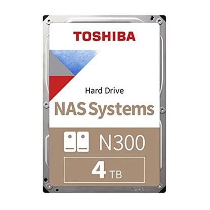 Toshiba N300 - NAS Hard Drive 3.5'' 4TB (HDWQ140UZSVA) (TOSHDWQ140UZSVA)