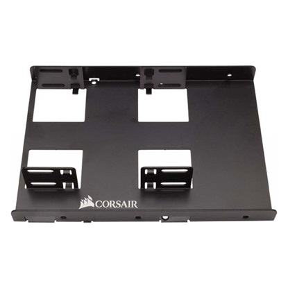 Corsair Tray SSD 2.5 to 3.5 Dual Mounting Bracket (CSSD-BRKT2) (CORCSSD-BRKT2)