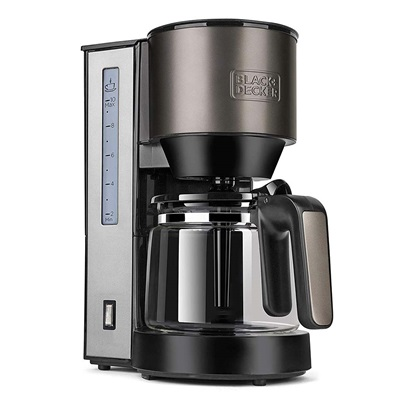Black & Decker Drip Coffee Maker 870W Black (BXCO870E) (BDEBXCO870E)