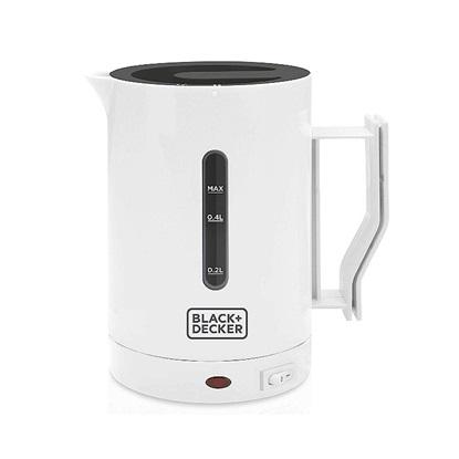 Black & Decker Kettle 1000W White (DC1005-QS) (BDEDC1005QS)