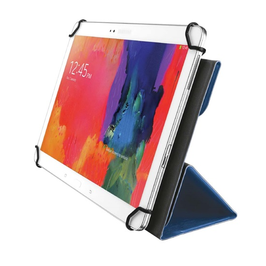 """Trust Aexxo Universal Folio Case for 10.1"""" tablets - blue (21205) (TRS21205)"""