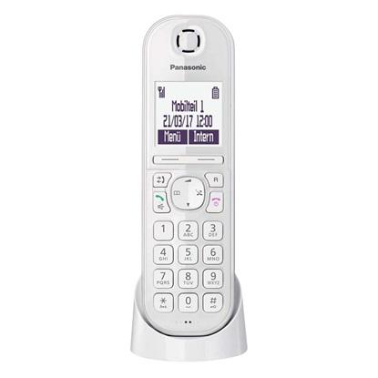 Ασύρματο Τηλέφωνο Panasonic KX-TGQ200GW White (KX-TGQ200GW) (PANKX-TGQ200GW)