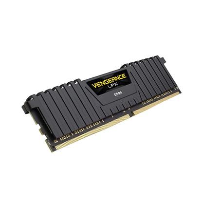 Corsair VENGEANCE® LPX 8GB (1 x 8GB) DDR4 DRAM 2400MHz C14 Memory Kit - Black (CMK8GX4M1A2400C14)