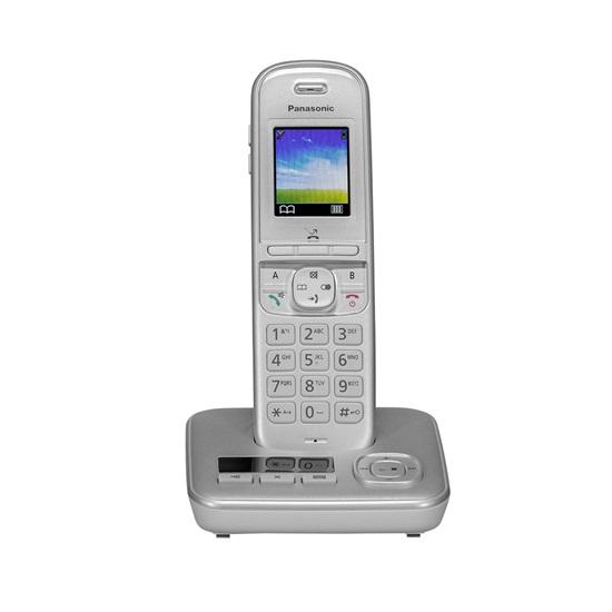 Ασύρματο Τηλέφωνο Panasonic KX-TGH720 PearlSilver (KX-TGH720GG) (PANKX-TGH720GG)