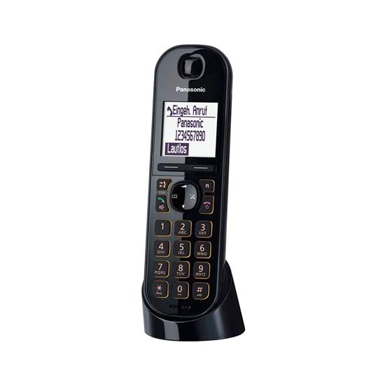 Ασύρματο Τηλέφωνο Panasonic KX-TGQ200GB Black(KX-TGQ200GB) (PANKX-TGQ200GB)
