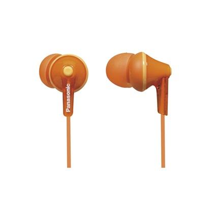 Panasonic RP-HJE125 Orange Headphones (RPHJE125ED) (PANRPHJE125ED)