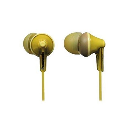 Panasonic RP-HJE125 Yellow Headphones (RPHJE125EY) (PANRPHJE125EY)