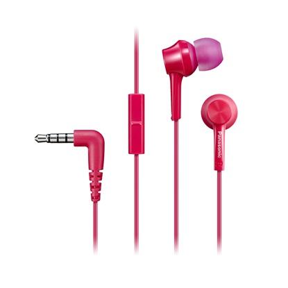 Panasonic RP-TCM115E Pink Headphones (RP-TCM115E-P) (PANRP-TCM115E-P)