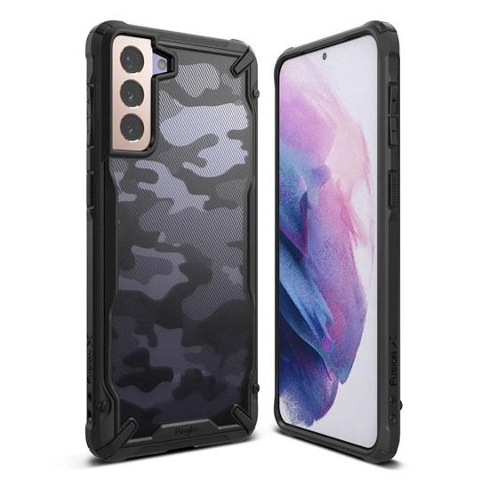 Ringke Fusion X Galaxy S21 Camo Black(XDSG0044) (RINXDSG0044)