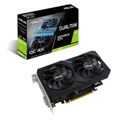 VGA Asus GeForce GTX 1650 4GB Dual mini OC (90YV0EH6-M0NA00) (ASU90YV0EH6-M0NA00)