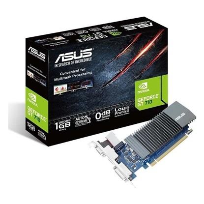 VGA Asus GeForce GT 710 1GB SL 1GD5 (90YV0AL0-M0NA00) (ASU90YV0AL0-M0NA00)