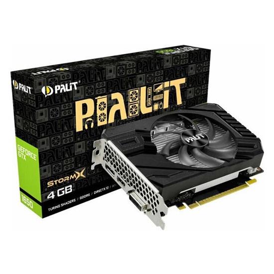 VGA Palit GeForce GTX 1650 4GB D6 StormX (NE61650018G1-166F) (PALNE61650018G1-166F)