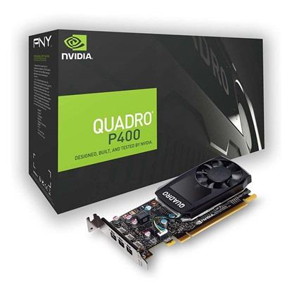 VGA PNY Quadro P400 v2 2GB DVI (VCQP400DVIV2-PB) (PNYVCQP400DVIV2-PB)