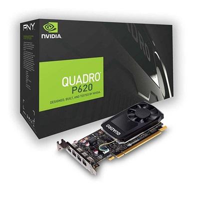 VGA PNY Quadro P620 v2 2GB DVI (VCQP620DVIV2-PB) (PNYVCQP620DVIV2-PB)