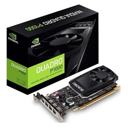 VGA PNY Quadro P1000 v2 4GB DVI GDDR5 (VCQP1000DVIV2-PB) (PNYVCQP1000DVIV2-PB)