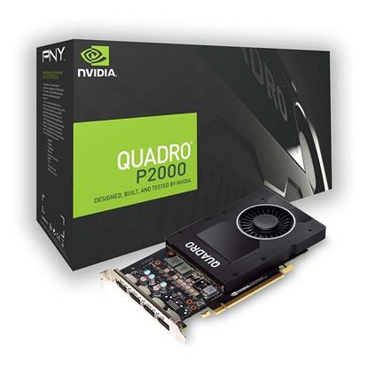 VGA PNY Quadro P2000 5GB DP (VCQP2000-PB) (PNYVCQP2000-PB)