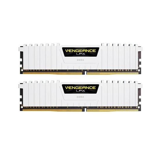 Corsair RAM Vengeance LPX DDR4 3200MHz 16GB kit White (2 x 8GB) (CMK16GX4M2B3200C16W)