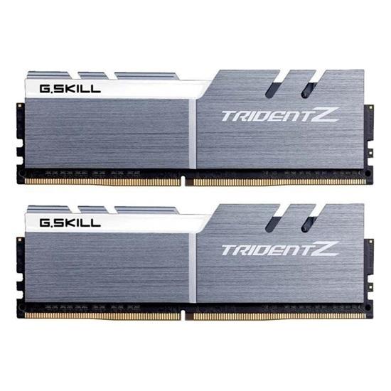 G.Skill Trident Z DDR4-3600MHz 32GB (2x16GB) CL17-19-19-39 1.35V Silver-White (F4-3600C17D-32GTZSW) (GSKF4-3600C17D-32GTZSW)