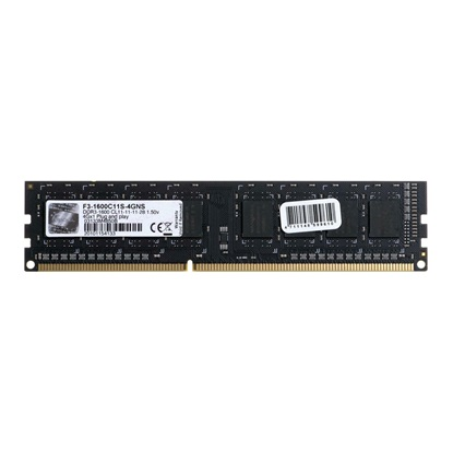 G.Skill Value DDR3-1600MHz 4GB (1x4GB) (F3-1600C11S-4GNS) (GSKF3-1600C11S-4GNS)